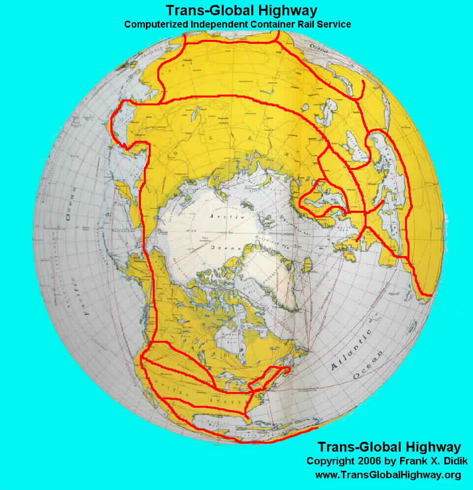 Trans Global Highway A Proposal By Frank X Didik May - New york map highways